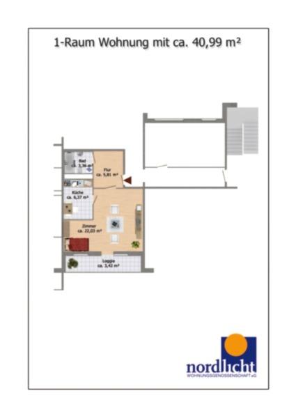 Raum Wohnung